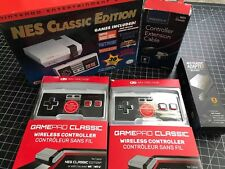 NES CLASSIC MODDED ULTIMATE Bundle 720 Games BRAND NEW 2 Wireless Gamepads +