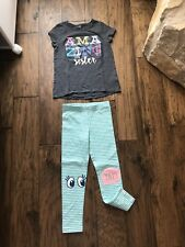 Used Once! Carter's Toddler Girl 5T Summer Outfit Clothes