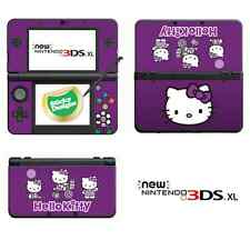 Hello Kitty Vinilo Skin Adhesivo Para Nuevo Nintendo 3ds Xl (con c palo) - Púrpura
