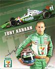 2005 TONY KANAAN signed INDIANAPOLIS 500 7-ELEVEN PHOTO CARD POSTCARD INDY CAR