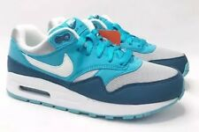 Nike Air Max 1 GS Youth Size 5Y Blue/Grey/White 807602-003 NEW Free S/H!