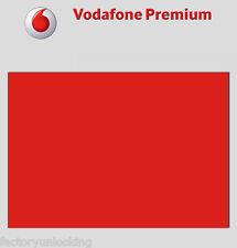 PREMIUM UNLOCK SERVICE Vodafone UK iPhone 7 SE 6S PLUS 6 5S 5 Official Unlocking