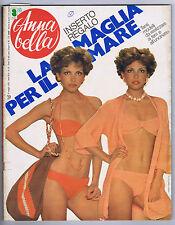 ANNABELLA N. 22,1975 – Susan Rosenkowitz,Anna Lorenz,Uncinetto,ferri,moda, Moda