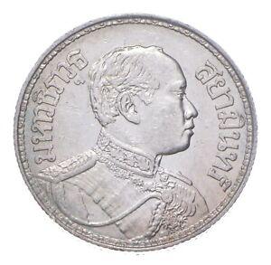 SILVER - WORLD Coin - 1917 Thailand 1 Baht - World Silver Coin *475