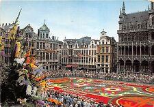 BG4942 brussels grand place tapis de fleurs   belgium