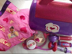 Doc Mcstuffins Playset Childs Nurse Outfit With Nurses Bag And Contents