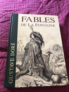 LIVRE  FABLEs DE LA FONTAINE - ILLUST. GUSTAVE DORE - 1993 TBE
