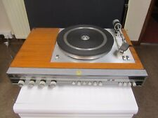 Retro Ecko Turntable ZU5 including radio and detachable speakers