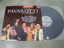 PAVAROTTI &FRIENDS(KOR LP)STING/zucchero/BRIAN MAY/mike oldfield/SUZANNE VEGA NM
