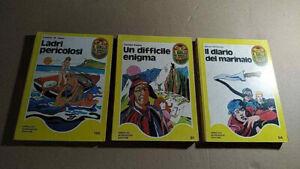 """3 romanzi a scelta de """"Il giallo dei ragazzi"""" Mondadori"""