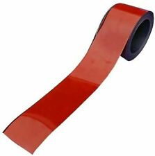 70mm Red Magnetic Racking Strip