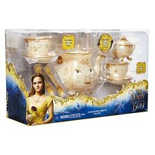 Disney Beauty And The Beast Enchanted Objects Tea Set *NEW*