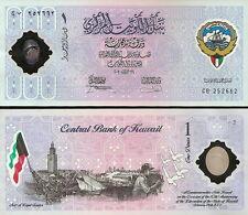 KUWAIT - 1 Dinar 2001 polymer commemorative  FDS - UNC