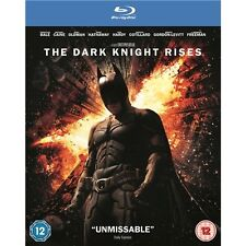 BATMAN - THE DARK KNIGHT RISES - BLU RAY - 2 DISCS - NEW / SEALED