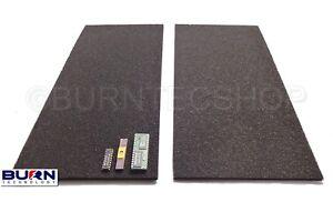 2 x Conductive foam Sheets 30 x 15cm Anti-Static Foam IC Chip ESD safe storage