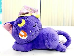 Sailor Moon Anime Big Stuffed Plush Toy Doll Guardian Cat Sleeping Luna BP39578