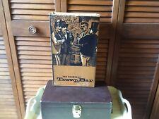 Vintage Trav-L-Bar Ever Wear 2 Bottle Storage Vinyl Box Original Key & Box