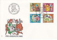 Schweiz  FDC Ersttagsbrief 1985 Märchen Mi.Nr.1304-7