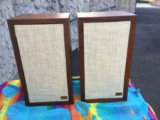 Acoustic Research AR-3a Loudspeakers. Fully restored, recapped refinished