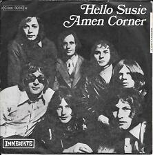 "45 TOURS / 7"" SINGLE--AMEN CORNER--HELLO SUSIE / EVIL MAN'S GONNA WIN"