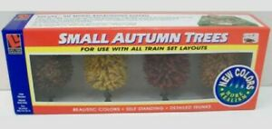 Life Like 1903 Small Autumn Trees (Pack of 4)
