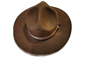 Drill Sergeant Hat Army Instructor Campaign State Trooper Military Park Ranger M