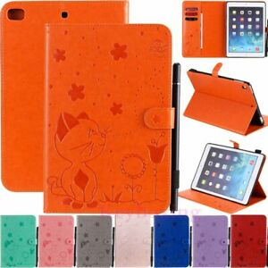 Cat&Bee Magnetic Flip Leather Case Cover For iPad 2/3/4/5/6/7th Gen Mini/Air/Pro