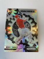 2020 Panini Prizm Mike Trout Machines Silver Prizm Insert SP!
