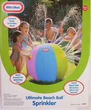 Little Tikes Ultimate Beach Ball Sprinkler Outdoor Water Play Toy for Kids