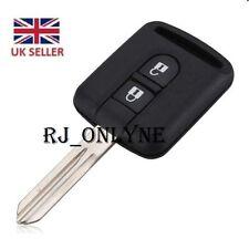 2 Button Key Case For Nissan Micra Navara Note X-Trail  /LOGO A05