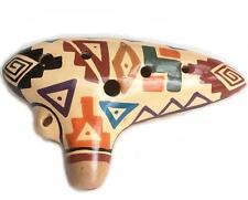 11 Hole Ocarina Instrument Handmade in Ecuador