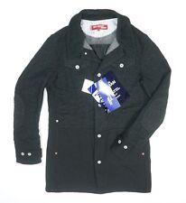 d3ad1cfd1 Comme Des GARCONS Junya Watanabe Levis Wp-c201-051 Black Long Jacket Size L