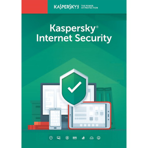 Kaspersky Internet Security 2020 1 Year 1 Device -Americas Key Install New/Renew