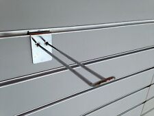 Slatwall HQ Double Hooks 200mm (box of 20)