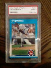1987 Fleer Greg Maddux #U-68 Baseball Card PSA 9 Mint!