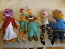 Lot Henson Muppets Plush Toy Animal Miss Piggy Fozzy Bear Doctor Nurse Assistant