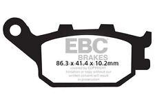 FIT YAMAHA FZ6 Fazer S2 - Half Fairing/ABS 2008 EBC Semi-Sintered V Pad Set Rear