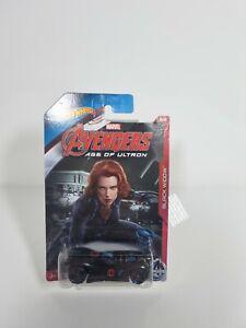 Hot wheels Avengers Age of Ultron black widow Marvel 16 Angeis