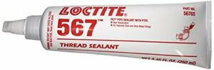 LOCTITE 567 Master pipe sealant With PTFE - high temp -  50ml Tube - 56747A