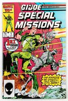 G.I. Joe Special Missions #1 (1986 Marvel) Michael Zeck Cover! Unread! NM