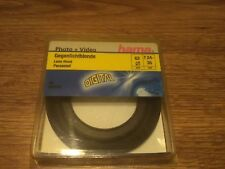 Original Hama rubber lens hood wide angle 58/62/72/77mm. BEST PRICE! NEW!