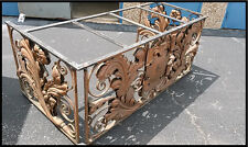 Decorative French Ironwork Design custom made Antique Desk