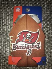 TAMP BAY BUCCANEERS NFL FOOTBALL CAN COOLER COLLAPSIBLE INSULATED BOTTLE HOLDER