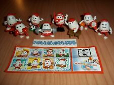 KINDERINO SPORT COMPLETE SET OF 8 WITH ALL PAPERS KINDER SURPRISE 2014