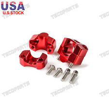 Red Bar Mounts Riser Adapter For Honda CR/CRF/XR 80 100 125 250 450 500 650