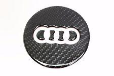 Carbon Steering Wheel Insert Emblem Badge Logo Sticker for Audi A3 A5 Q3 Q5 Q7