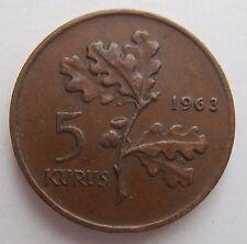 Turchia 5 alla 1963