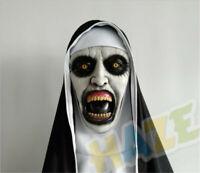 Conjurando el fantasma de la película de terror Monja Mascara Cosplay Props Mask