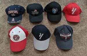 Staten Island New York Yankees Minor League Baseball Vintage Hat Cap Lot of 7