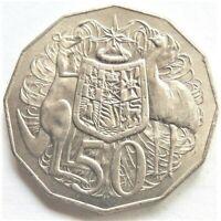 1976 Australia, Elizabeth II 50 Cents, Grading UNCIRCULATED